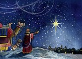 The Wiseman and The Star Christmas Cards, Pack of 5