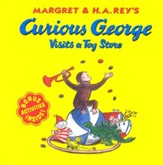 Curious George Visits a Toy Store Softcover