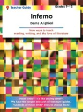 Inferno, Novel Units Student Pack, Grades 9-12