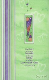 Love Never Fails Flexcover Journal