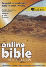 The Deluxe Online Bible for Macintosh