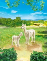 Playmobil Alpaca With Baby Accessory