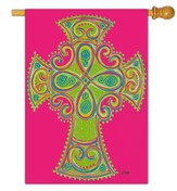 Celtic Cross Flag, Large