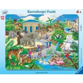 Visit to the Zoo, Frame Puzzle
