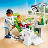 Playmobil Dentist With Patient Accessory