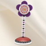 Groovy Garden Mom Flower Finial