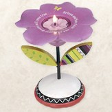 Groovy Garden, Believe Flower Tea Light Holder
