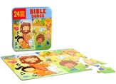 Bible Songs CD and Puzzle Tin