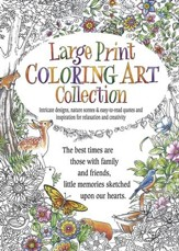 Large Print Coloring Art Collection