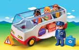 PLAYMOBIL ® 1.2.3. Airport Shuttle Bus Playset