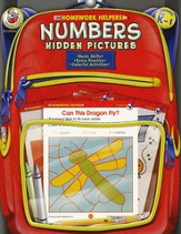 Numbers Hidden Pictures (PreK-1) Homework Helper