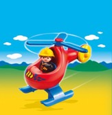 PLAYMOBIL ® Fire Rescue Helicopter