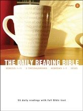 The Daily Reading Bible (Volume #3)