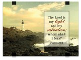 The Lord Is My Light and My Salvation, Tabletop Plaque