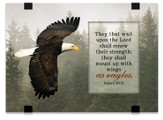 They that Wait Upon the Lord, Eagles, Tabletop Plaque