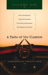 A Taste of the Classics, Volume 1: Mere Christianity, Pilgrim's Progress, Brothers Karamazov, The Imitation of Christ - Slightly Imperfect