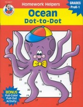 Ocean Dot-to-Dot (PreK-1) Homework Helper