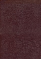 KJV Dake Annotated Reference Bible, Bonded leather, Burgundy