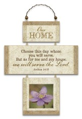 Our Home, Cross Wall Plaque