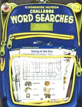 Challenge Word Searches (K-1) Homework Helper