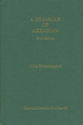 A Grammar of Akkadian, Third Edition