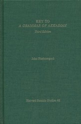Key to Grammar of Akkadian 3rd Edition