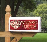Welcome Friends Mailbox Magnet