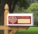 Welcome Mailbox Magnet