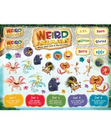 Weird Animals Sticker Sheets, 10 sheets