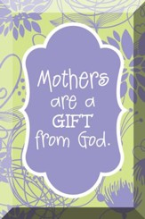 Mothers Are A Gift From God, Glass Plaque