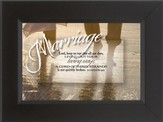 Marriage, A Cord of Three Strands Framed Print