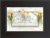 Mom, I Said a Prayer Framed Print