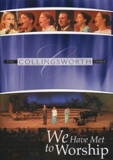 We Have Met to Worship, DVD