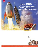 Blast Off Publicity Posters, pack of 5