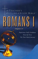 Teacher's Outline & Study Bible KJV: Romans Vol 1