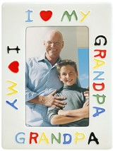 I Love Grandpa Photo Frame