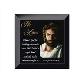 He Lives, Jesus, Framed Art