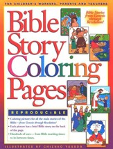 Bible Story Coloring Pages  - Slightly Imperfect