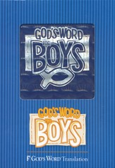 GOD'S WORD for Boys Bible, Duravella, blue prism - Slightly Imperfect