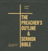 Preachers Outline & Sermon Bible KJV Deluxe Daniel & Hosea