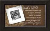 There For You, Our Adopted Child Framed Print
