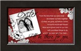 There For You, Sister Framed Print