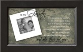 There For You, To My Family Soldier Framed Print