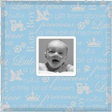 Precious Baby Photo Frame, Blue