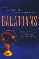 Teacher's Outline & Study Bible KJV: Galatians