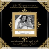 United in Marriage Photo Frame to Personalize