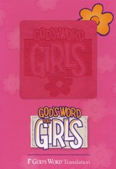 GOD'S WORD for Girls Bible, Duravella, pink