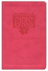 KJV Study Bible for Girls, Duravella, pink - Imperfectly Imprinted Bibles