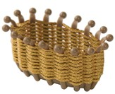 Egypt VBS 2016: Miniature Woven Bread Basket Kit, pack of 10
