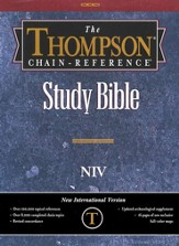 NIV Thompson Chain-Reference Bible, Burgundy  Bonded Leather 1984